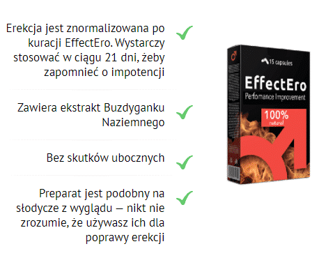 effectero działąnie efekty